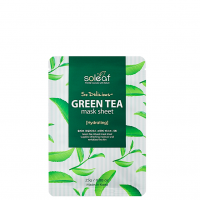 Soleaf So Delicious Green Tea Mask Sheet - Soleaf маска для лица с зеленым чаем